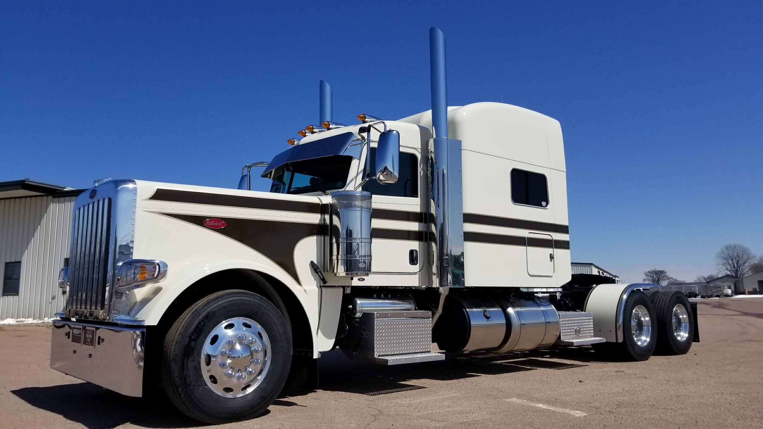 The Pete Store has one of the largest Peterbilt truck and parts inventories on the country, factory trained service technicians, custom body shop, truck leasing, rental.