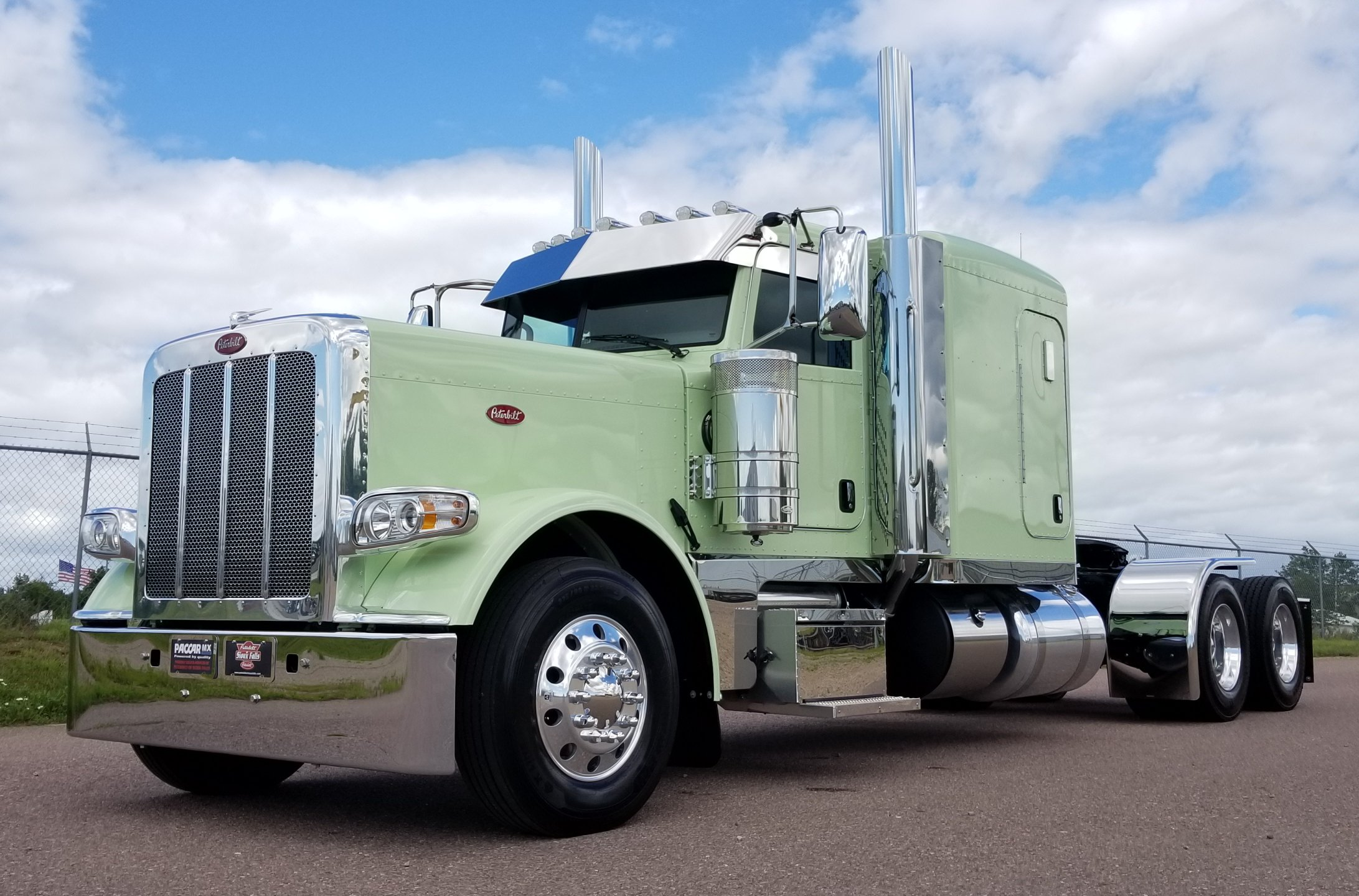 Paccar Powered 389 Ready To Go Peterbilt Of Sioux Falls